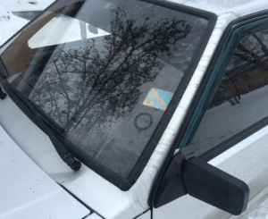 нанорефлектор - действие на стеклах