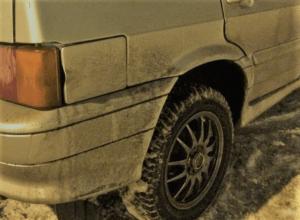 нанорефлектор - проверка грязью